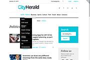 Премиум тема CityHelard для Wordpress + бонус 7 - kwork.ru