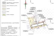 Схема планировочной организации земельного участка - спозу 61 - kwork.ru