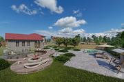 Фотореалистичная 3D визуализация экстерьера Вашего дома 258 - kwork.ru
