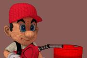 3D персонаж для игрового проекта 40 - kwork.ru