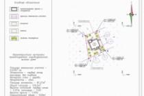 Схема планировочной организации земельного участка - спозу 80 - kwork.ru