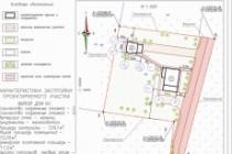 Схема планировочной организации земельного участка - спозу 70 - kwork.ru