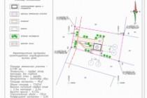 Схема планировочной организации земельного участка - спозу 84 - kwork.ru