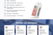 Сделаю продающий Лендинг для Вашего бизнеса 122 - kwork.ru