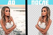 Уберу задний фон и обработаю фотографию 6 - kwork.ru