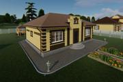 Фотореалистичная 3D визуализация экстерьера Вашего дома 370 - kwork.ru