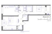 Планировка квартиры или жилого дома, перепланировка и визуализация 113 - kwork.ru