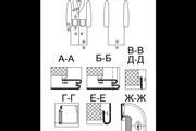 Чертежи в AutoCAD 161 - kwork.ru