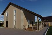 Фотореалистичная 3D визуализация экстерьера Вашего дома 328 - kwork.ru