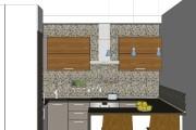 Дизайн-проект кухни. 3 варианта 41 - kwork.ru
