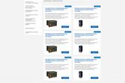 Уникальный дизайн сайта для вас. Интернет магазины и другие сайты 382 - kwork.ru