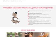 Landing Page с 0 + дизайн 230 - kwork.ru