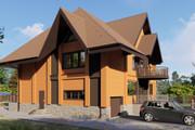 Фотореалистичная 3D визуализация экстерьера Вашего дома 360 - kwork.ru
