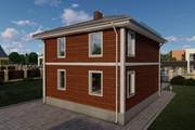 Фотореалистичная 3D визуализация экстерьера Вашего дома 343 - kwork.ru