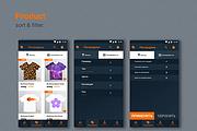 Дизайн мобильного приложения UI UX 34 - kwork.ru