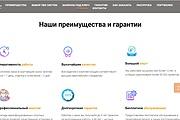 Создание сайта - Landing Page на Тильде 293 - kwork.ru