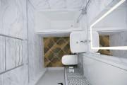 Дизайн ванной комнаты 16 - kwork.ru
