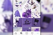 Стильно оформлю Instagram-аккаунт 7 - kwork.ru