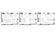 Планировка квартиры или жилого дома, перепланировка и визуализация 158 - kwork.ru