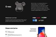 Лендинг на Tilda 30 - kwork.ru