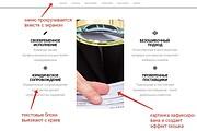 Лендинг для любых целей на Wordpress 145 - kwork.ru