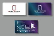 Дизайн визитки 149 - kwork.ru