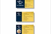 Дизайн визитки 138 - kwork.ru