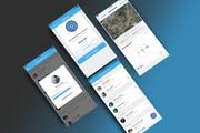 Дизайн двух экранов мобильного приложения 11 - kwork.ru