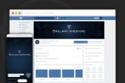 Сделаю оформление Вконтакте для группы 120 - kwork.ru
