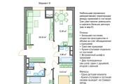 Планировочные решения. Планировка с мебелью и перепланировка 245 - kwork.ru