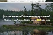 Создам лендинг на вордпресс быстро 49 - kwork.ru