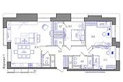 Планировка квартиры или жилого дома, перепланировка и визуализация 143 - kwork.ru
