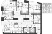 Разработка 3 вариантов планировки квартиры 36 - kwork.ru