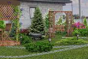 Визуализация благоустройства и озеленения территории, фото-эскиз 31 - kwork.ru