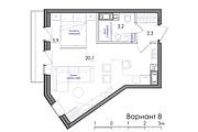 Планировка квартиры или жилого дома, перепланировка и визуализация 133 - kwork.ru