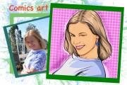 Нарисую портрет в стиле Pop Art,Comics Art, Stik Art 48 - kwork.ru