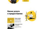 Уникальный дизайн Landing Page от профессионала 21 - kwork.ru