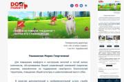 Дизайн и верстка адаптивного html письма для e-mail рассылки 166 - kwork.ru