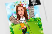 Нарисую для Вас иллюстрации в жанре карикатуры 491 - kwork.ru