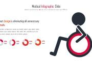 Инфографика на медицинскую тему. Шаблоны PowerPoint 44 - kwork.ru