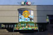 Дизайн рекламной наклейки на стекло, витрину 68 - kwork.ru