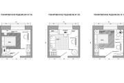 Планировочное решение вашего дома, квартиры, или офиса 125 - kwork.ru