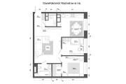 Планировочное решение вашего дома, квартиры, или офиса 115 - kwork.ru