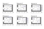 Планировка квартиры или жилого дома, перепланировка и визуализация 144 - kwork.ru