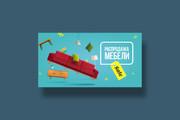 Разработаю дизайн баннера для сайта 72 - kwork.ru
