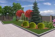 Проект ландшафтного дизайна участка 24 - kwork.ru
