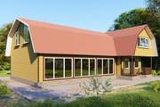 Фотореалистичная 3D визуализация экстерьера Вашего дома 353 - kwork.ru