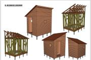 Сделаю 3D проект каркасного дома 15 - kwork.ru