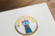Сделаю логотип в круглой форме 210 - kwork.ru