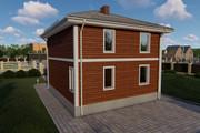 Фотореалистичная 3D визуализация экстерьера Вашего дома 342 - kwork.ru
